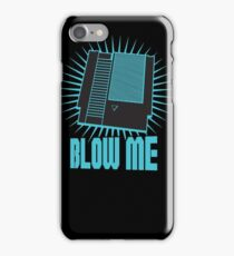 Nintendo Blow Me Cartridge Funny T-Shirt iPhone Case/Skin