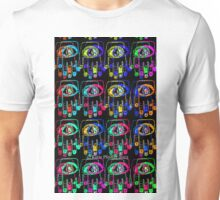 Color Pop Art Hamsa Hands Unisex T-Shirt