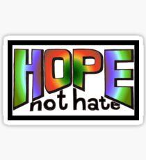 HOPE not hate Sticker