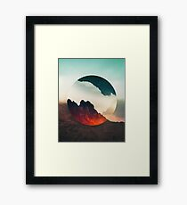 Second Sphere Framed Print