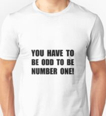 Odd Number One T-Shirt