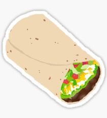 Tumblr Burrito Sticker
