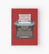 Bleed Words Hardcover Journal