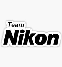 Team Nikon! Sticker