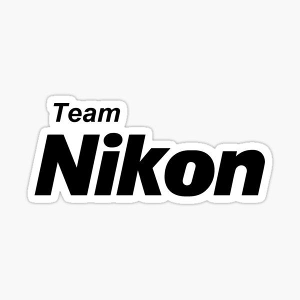 Équipe Nikon! Sticker