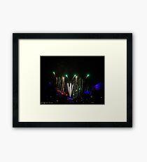 Fireworks 2 Framed Print