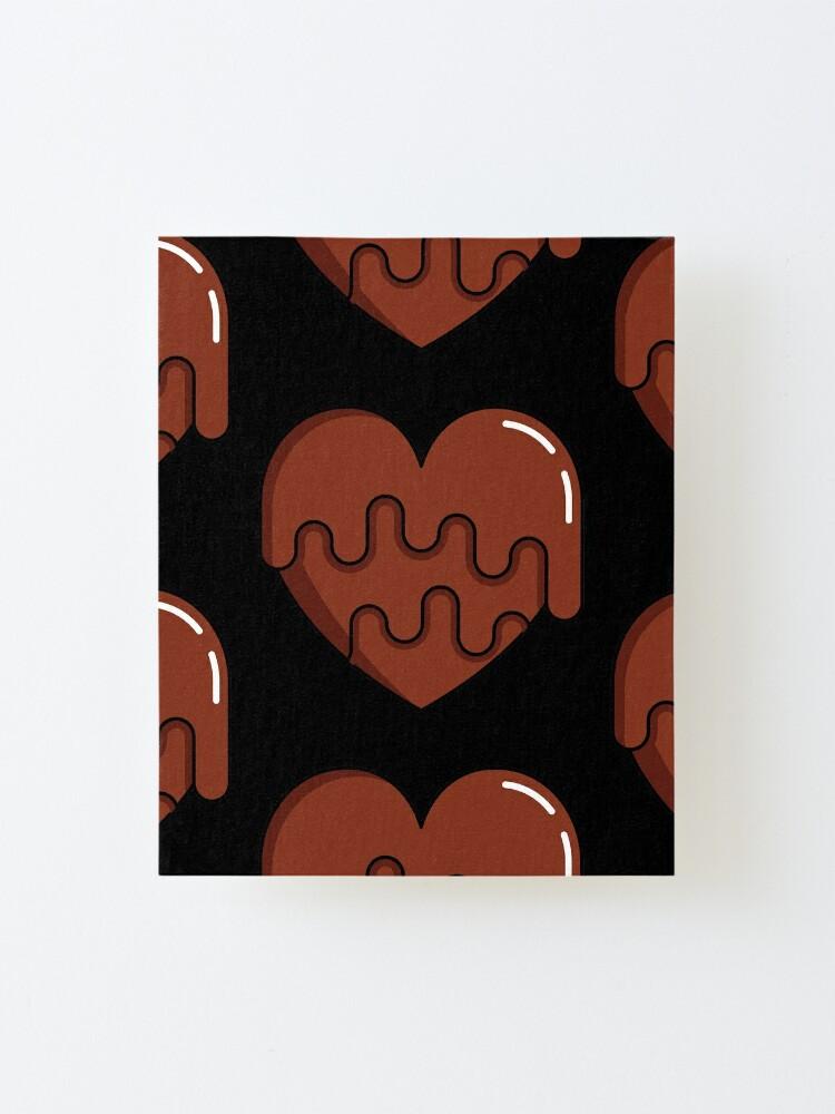 Alternate view of Chocolove - Love is Like Chocolate Mounted Print