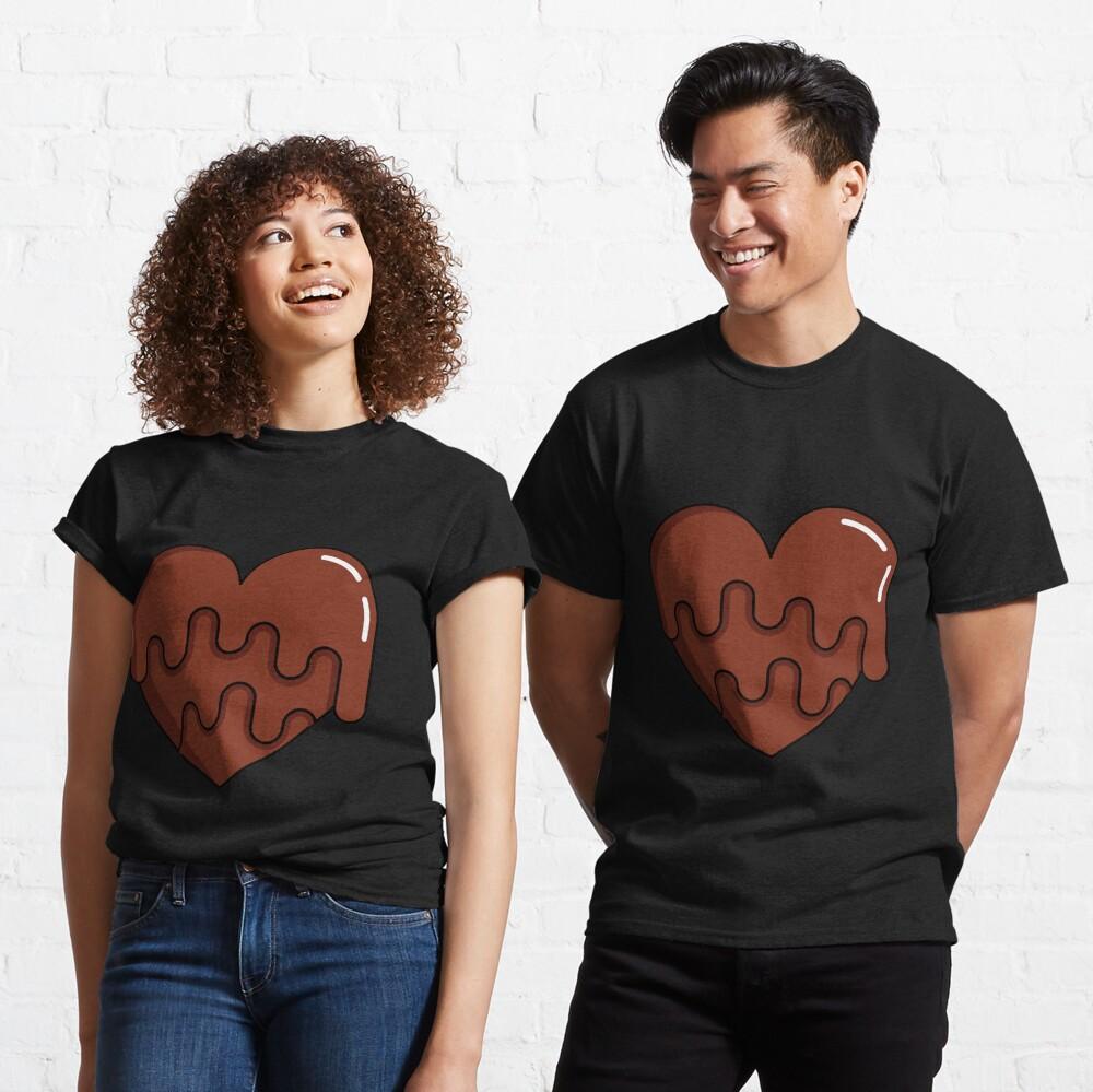 Chocolove - Love is Like Chocolate Classic T-Shirt