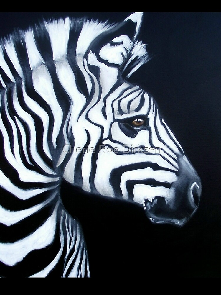 Zebra Profile by cheriedirksen