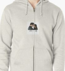 Being Human US aiden and sally Zipped Hoodie