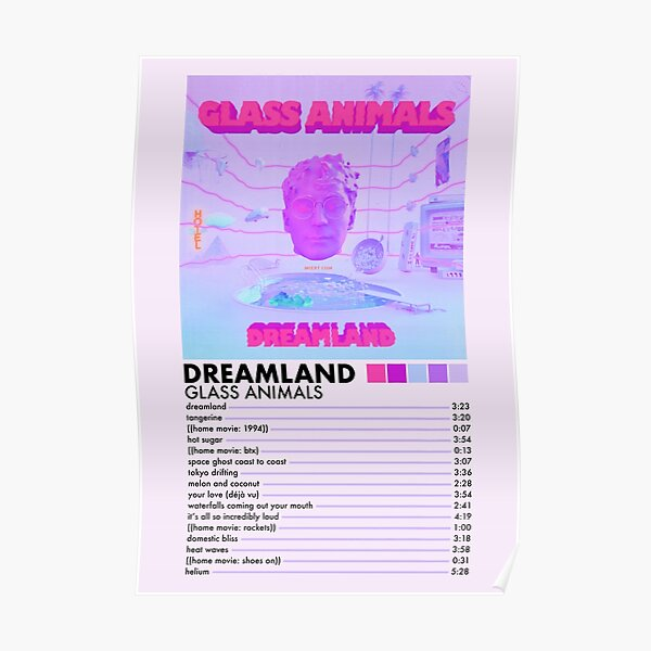 Dreamland by Glass Animals Poster