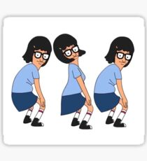 Tina Twerking Butts Sticker