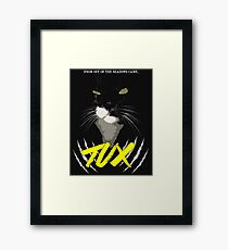 Tux - The Movie Framed Print