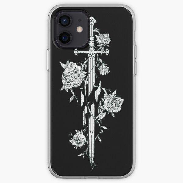 Roses de l'épée brisée Coque souple iPhone