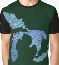 Great Lakes Graphic T-Shirt