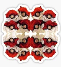 Pokeball Roses Sticker