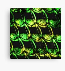 army of misfits in green Canvas Print