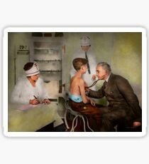 Doctor - At the pediatricians office 1925 Sticker