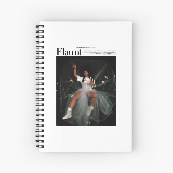 sza Spiral Notebook