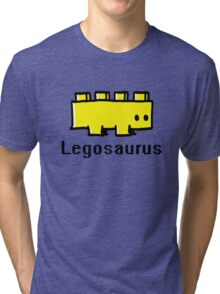 Fear the legosaurus Tri-blend T-Shirt