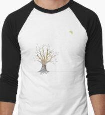 Moonlit Tree Men's Baseball ¾ T-Shirt
