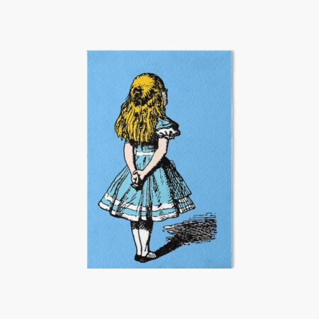 Alice, wonderland Art Board Print