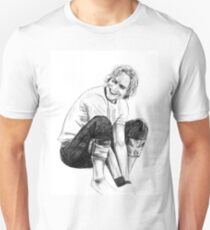 Heath Ledger Drawing Unisex T-Shirt