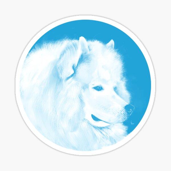 Samoyède - 1001 nordiques Sticker