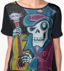 Haiti's Day of the Dead Women's Chiffon Top