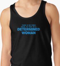 DETERMINED WOMAN Tank Top