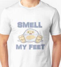 Cute Yeti Funny Smell My Feet Unisex T-Shirt