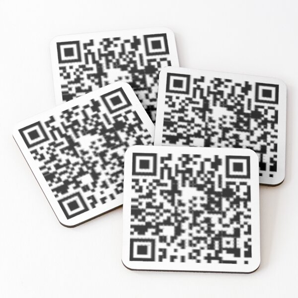 QR code: Donate Coasters (Set of 4)
