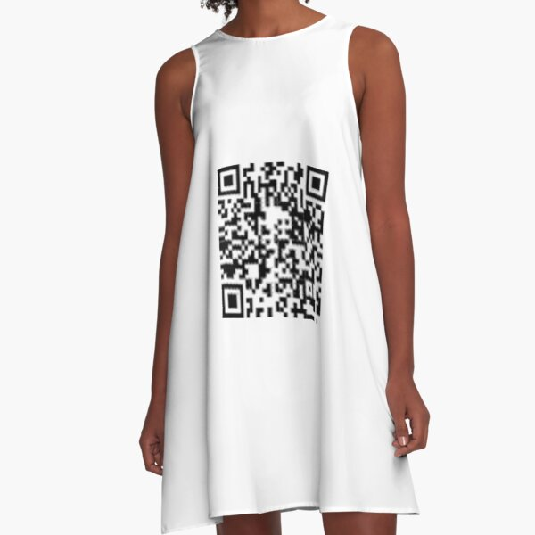 QR code: Donate A-Line Dress