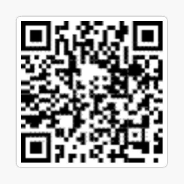 QR code: Donate Sticker