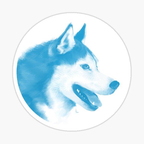 Husky - 1001 nordiques Sticker