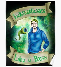 Jacksepticeye - Like a BOSS! Poster