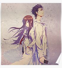 Okabe and Makise Poster