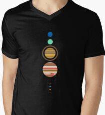 Solar System V-Neck T-Shirt