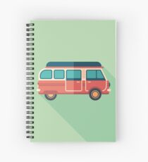 Retro Minivan Spiral Notebook