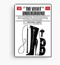 The Velvet Underground Poster Canvas Print