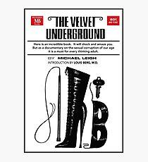 The Velvet Underground Poster Photographic Print