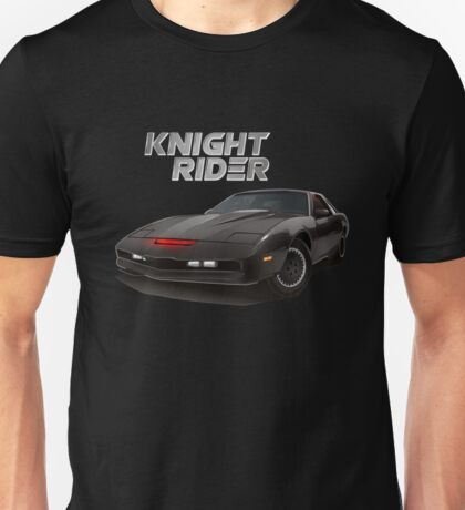 Knight Rider KITT Car Black T-shirt
