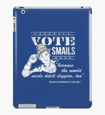 Vote Smails iPad Case/Skin