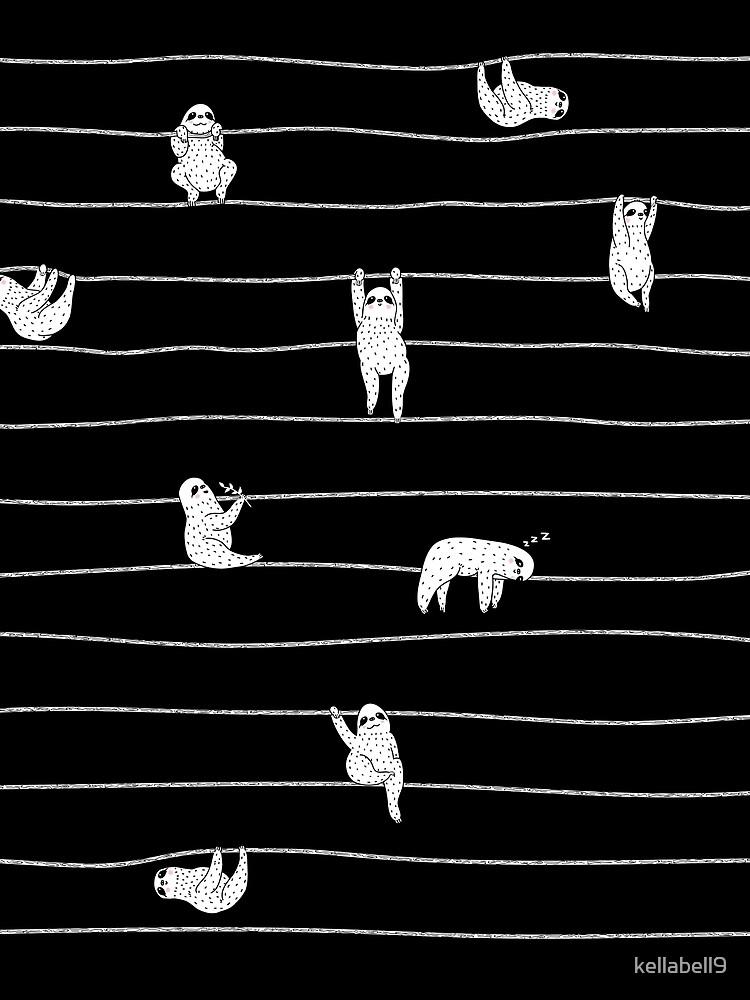 Sloth Stripe by kellabell9