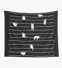 Sloth Stripe Wall Tapestry