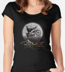 Pee Wee Phone Home Women's Fitted Scoop T-Shirt