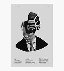 Hannibal Lecter Phrenology Photographic Print