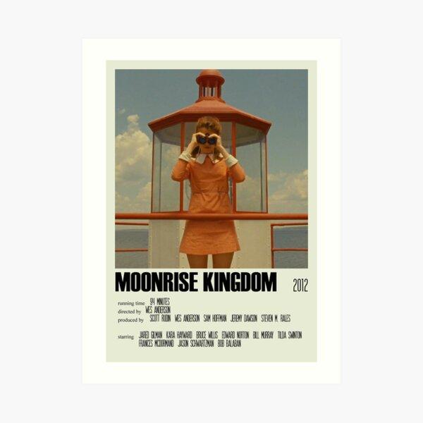 Moonrise Kingdom Alternative Poster Art Movie Large (1) Art Print