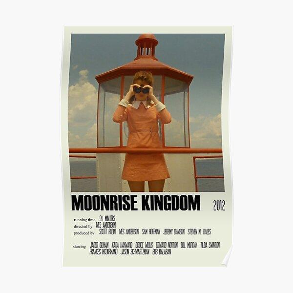 Moonrise Kingdom Alternative Poster Art Movie Large (1) Poster