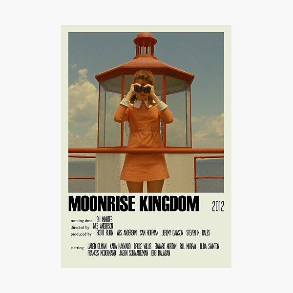 Moonrise Kingdom Alternative Poster Art Movie Large (1) Photographic Print